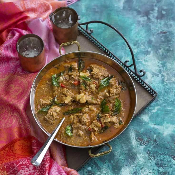 Thermomix | Pork vindaloo | Flavours of Cookbook + Recipe Chip |