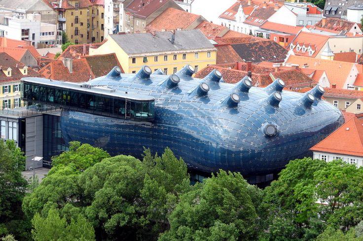Musée d art moderne, Graz, Autriche.