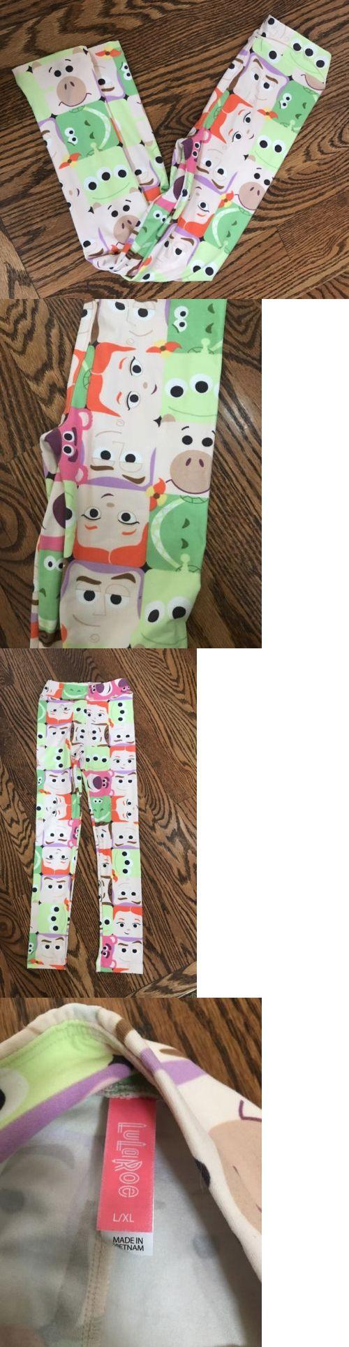 Pants 175654: New Lularoe Disney Toy Story Rex, Woody, Jessie Leggings Kids Large Xl L Xl -> BUY IT NOW ONLY: $39.99 on eBay!