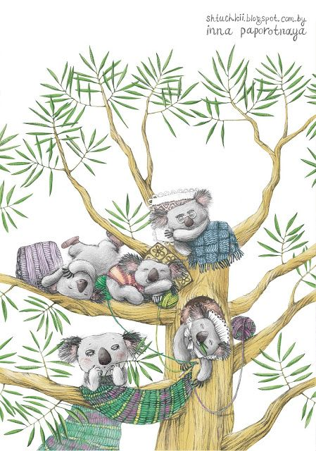 "SHTUCHKII: ""Семейство коала"" А. Усачев"