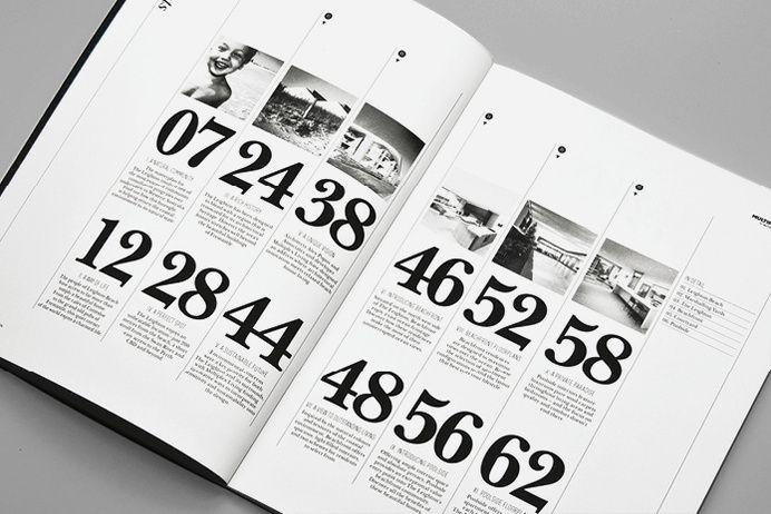 Monogram Design The Leighton Contents in Print