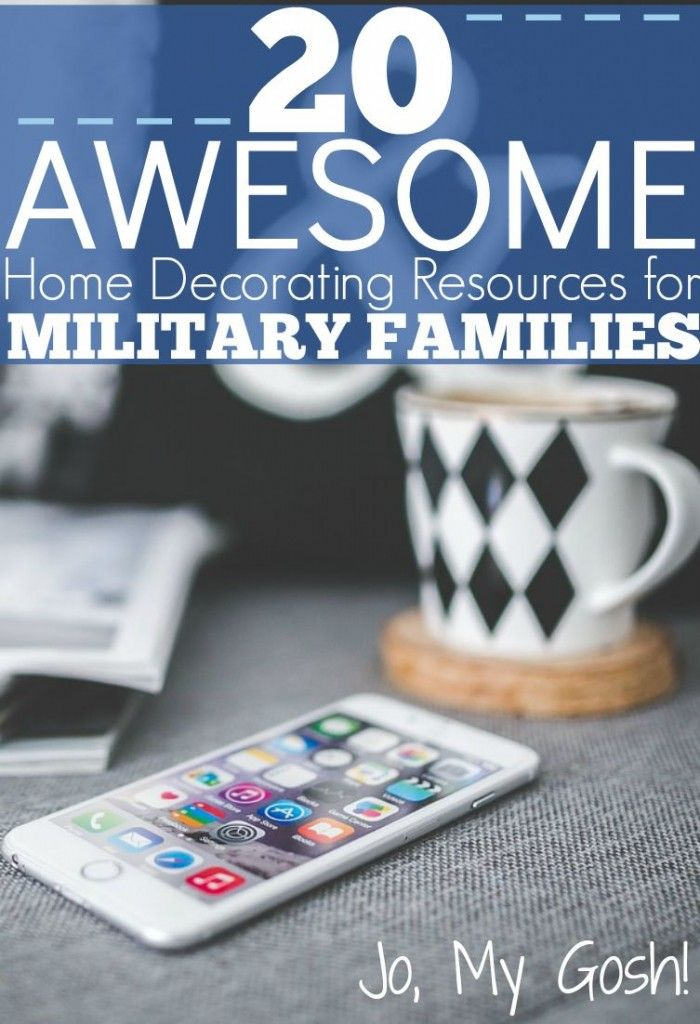 20 awesome home decorating resources for military families - Decorating Apps