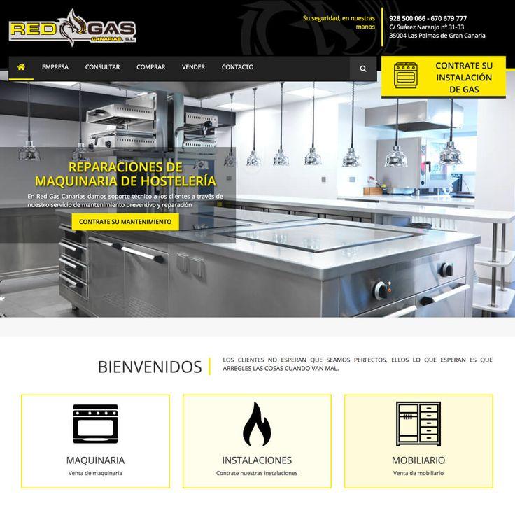 Redgascanarias.com Empresa dedicada a la venta de maquinaría de hostelería nueva y de segunda mano. Esta Web se adapta a todos los dispositivos, gracias a su sistema Responsive Web Design. #web_design #web #paginas_web #web_las_palmas #web_canarias #paginas_web_las_palmas #paginas_web_canariasempresa
