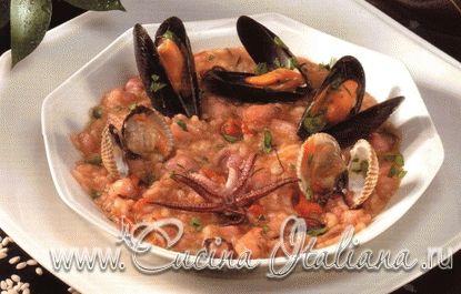 Ризотто с морепродуктами - Seafood risotto