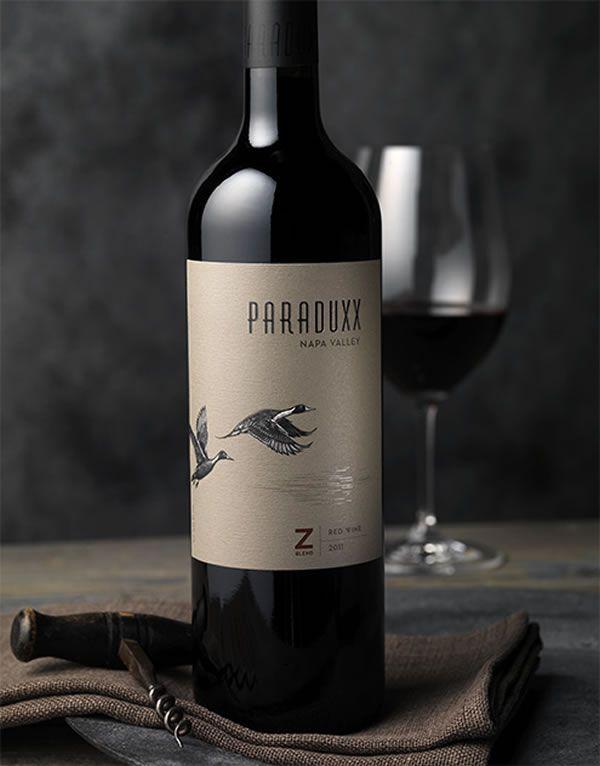 Paraduxx   Duckhorn Wine Company, Wine Label & Packaging Design by CF Napa Brand Design