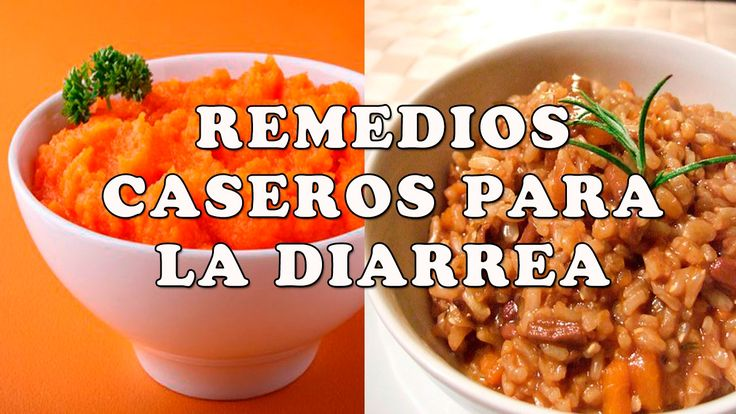 5 Remedios Caseros para la Diarrea - Como Eliminar la Diarrea con Remedi...