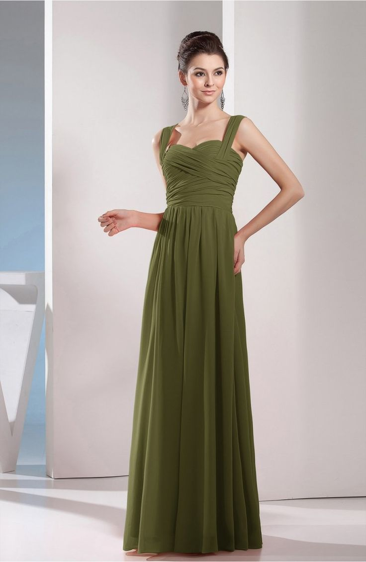 The 25 best olive green bridesmaid dresses ideas on pinterest olive green bridesmaid dress cute a line chiffon floor length long ruching ombrellifo Images