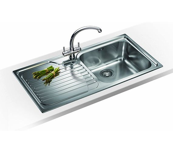 Franke Sinks And Taps Best Price : Franke Galassia Propack GAX 611 Stainless Steel Sink And Tap