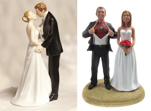 amazing and funny wedding cake toppers stylish eve wedding and superman shirt. Black Bedroom Furniture Sets. Home Design Ideas