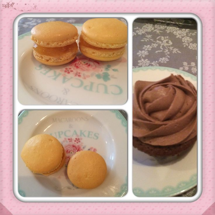 Makroner & cupcakes