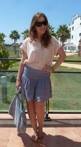 falda color blue ligh - Buscar con Google