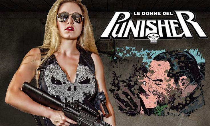 Al contrario di quanto si pensa, Frank Castle non è insensibile al gentil sesso: non disdegna le avventure di una notte e addirittura giunge a qualcosa di simile all'amore. #Marvel #Punisher #IlPunitore #MikeBaron