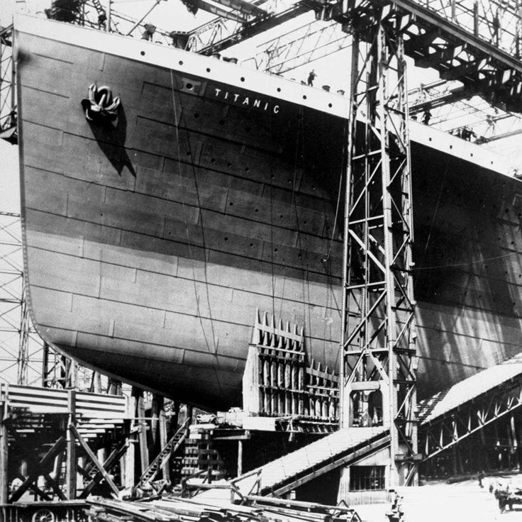 The RMS Titanic was once the largest floating ship in the world. It had a massive hull, towering smoke stacks, an opulent staircase, gargantuan propellers, enormous boilers and plenty of deck space…