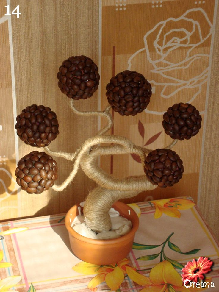 Coffee Bean Crafts Ideas
