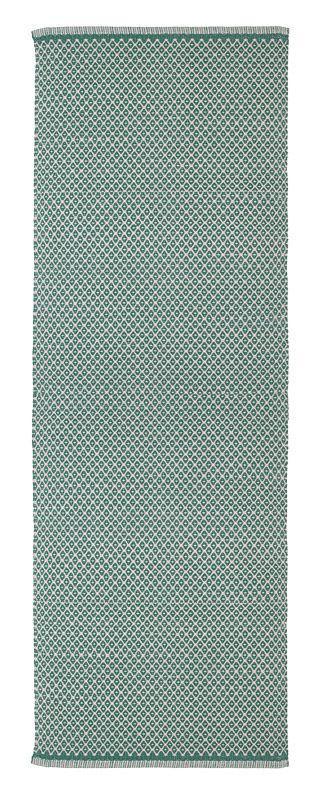 Aspegren-rug-rhombe-ocean-green-L-3004-web 100% cotton  www.aspegren.dk