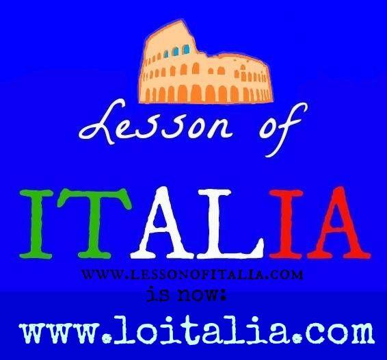 Lesson of Italia has changed its domain name: loitalia.com