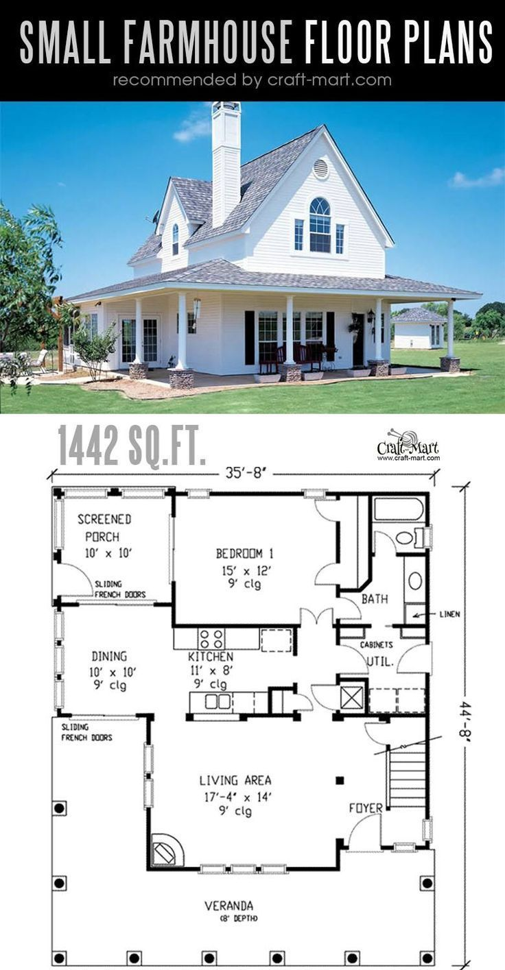 Small Farmhouse Plans For Building A Home Of Your Dreams Craft Mart Small Farmhouse Plans Farmhouse Floor Plans Modern Farmhouse Plans
