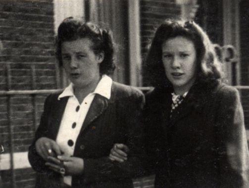 Tante Janny en Tante Martha