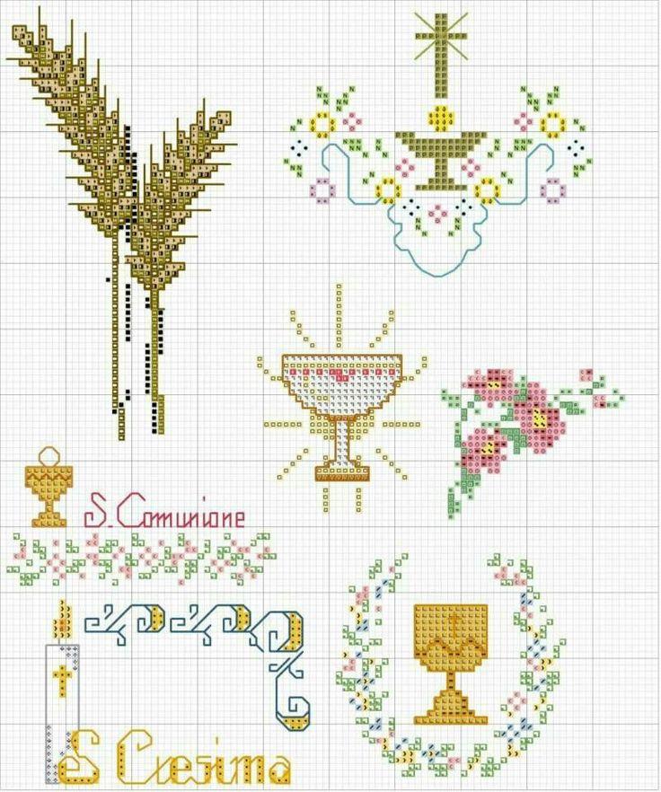 Connu 9 best punto croce cresima e comunione images on Pinterest RI32