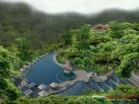 Exterior Swimming Pool Uma Asri Resort Plaga