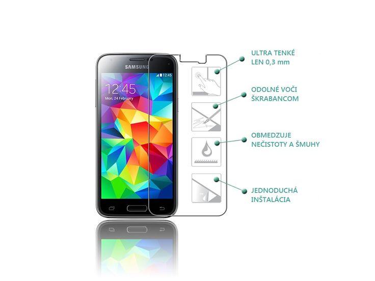 Ochranné tvrdené sklo 9H pre Samsung Galaxy S5