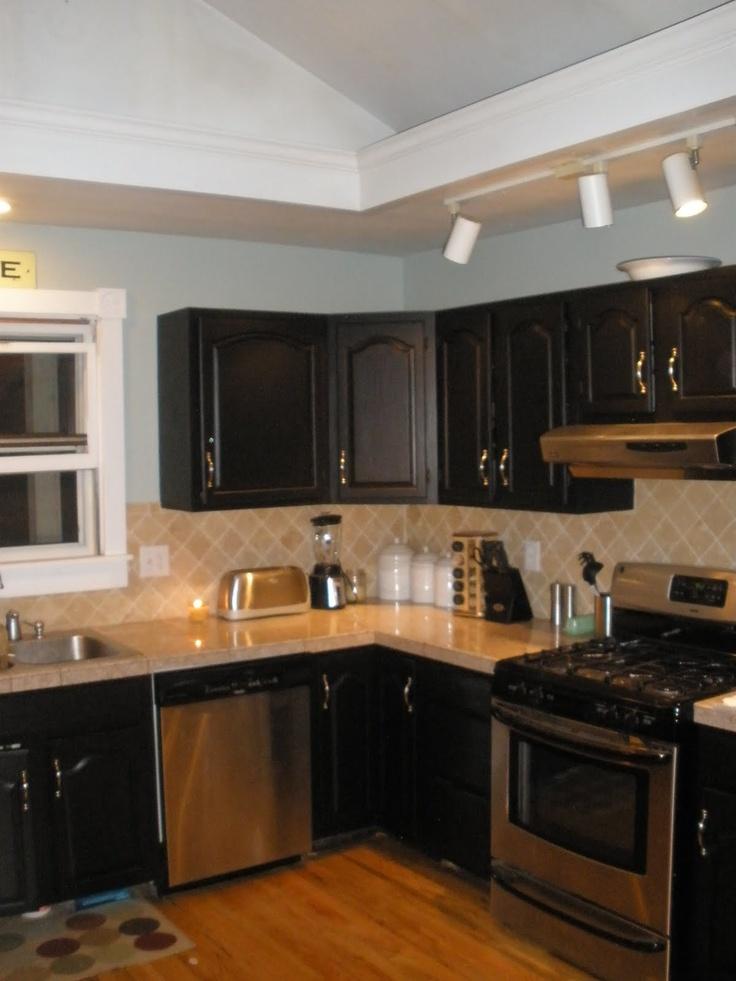 behr beluga for our kitchen cabinets. Interior Design Ideas. Home Design Ideas