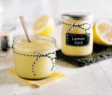 Schnelles Lemon Curd ohne Ei