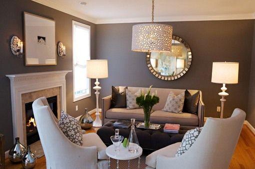 narrow contemporary formal living room ideas - Google Search