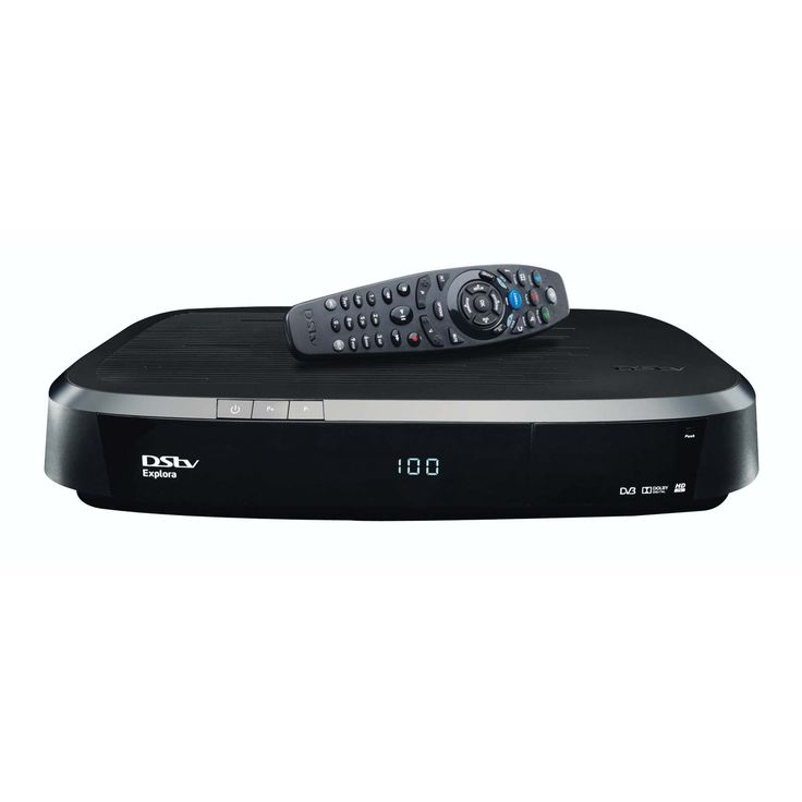 DSTV - DSTV EXPLORA HD - PVR -  DSTV – NEW GEN EXPLORA HD  Includes WiFi Connector The DStv Explora is set to significantly change the way you experience and control your TV. More Content Two times more space for your recordings — up to 220 hours of personal recorded content. Three times more DStv Catch Up and BoxOffice content. DStv Catch Up includes movies and series stacking — up to two episodes available at any time. Two times more Series Recordings — up to 40. Better Content Discovery…