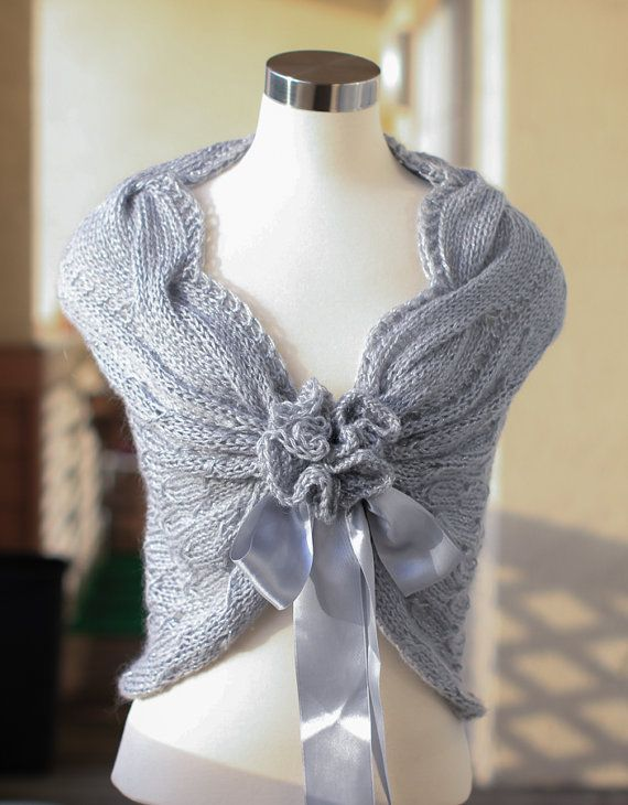 Perfect for wedding gowns, special event dresses, wedding party dresses, Bridal shower gift and accessories custom make knit shawl for you for your