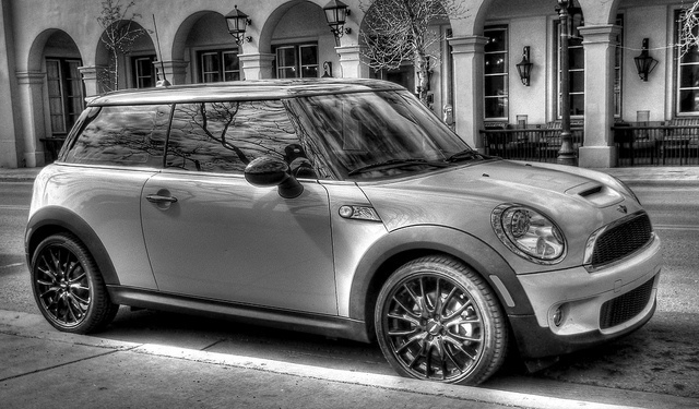 this will be my carB W Hdr, Mini Coopers, Minis Dog Qu, Black White, White Minis, Minis Cooper, Hdr Black, Hdr Photography