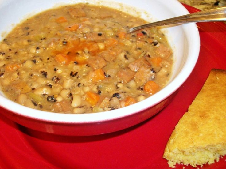Slow Cooker Black-Eyed Pea Soup | Pea Soup, Soups and Black Eyed Pea