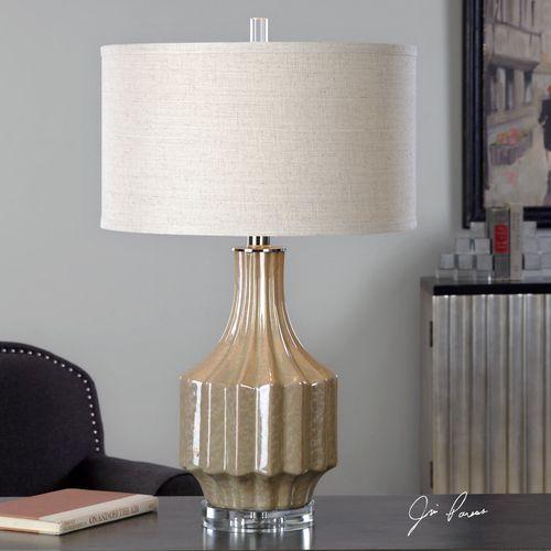 Barron Sand Brown Table Lamp
