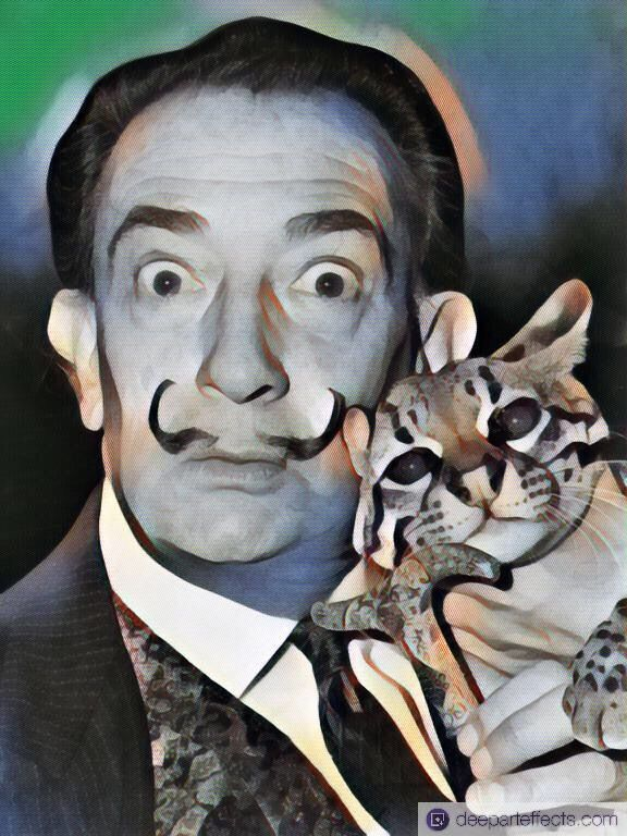 Happy Movember with Salvador Dalí!  #Movember #salvadordali #dali #Salvador #Dalí #foto #filter #ai #deeparteffects #deepart #dae #artificialintelligence #artwork #kunstwerk #fotofilter #fotoeffekt #photofilter #photoeffect  Created with DEEP ART EFFECTS APP  Download Android-App: https://play.google.com/store/apps/details… Download IOS-App: https://itunes.apple.com/…/deep-art-effects-ph…/id1170544083