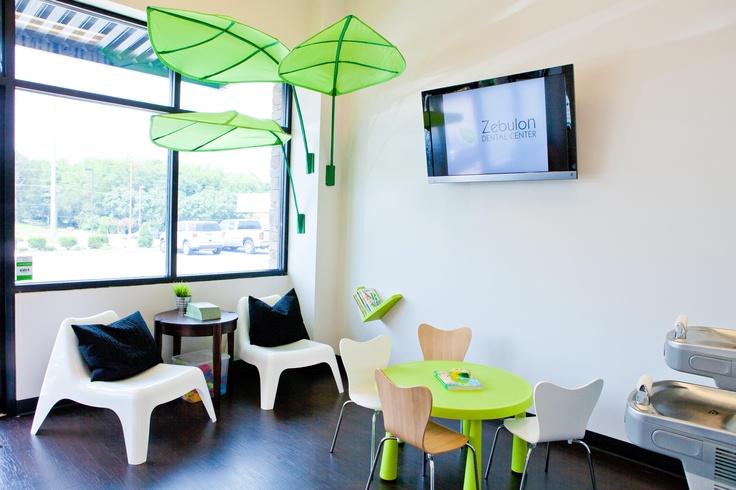 Toddler Classroom Design Ideas ~ Leaf canopy from ikea zebulon dental center pinterest