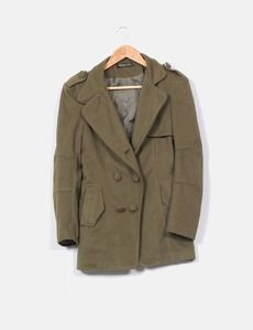 Abrigo verde militar Western Style