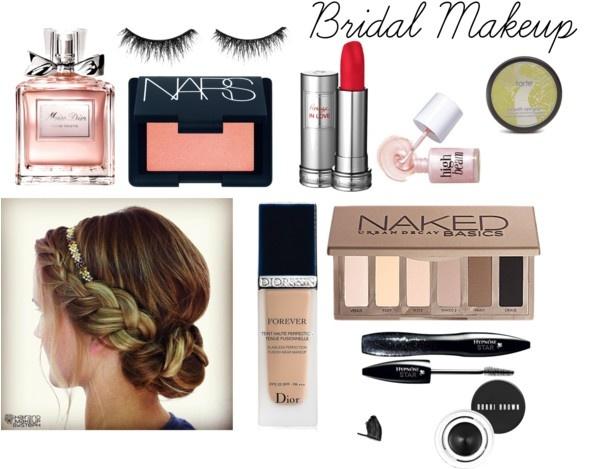 """bridal makeup"" by hannahjillian14 on Polyvore"