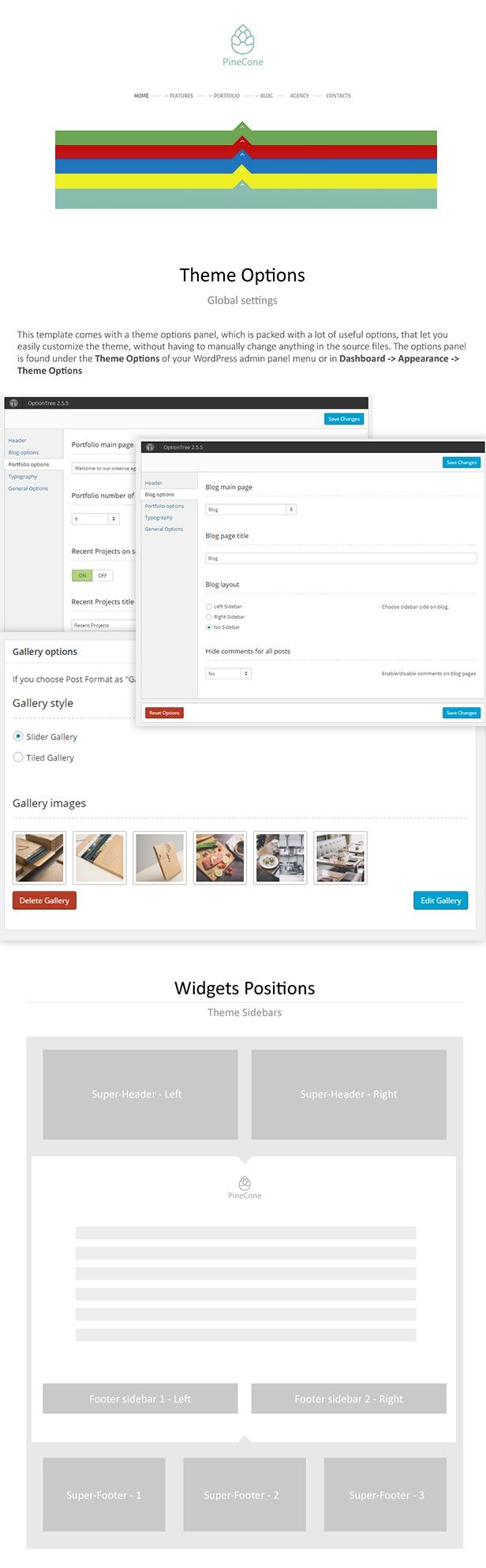 Free Creative Portfolio and Blog WordPress Theme