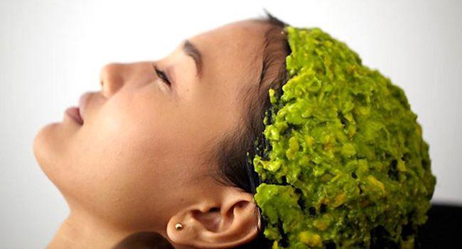 маски для увлажнения волос, маски из авокадо, рецепт