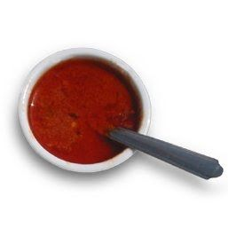 En saus fra Kanariøyene. Der serveres den med små poteter som kokes i kraftig saltet vann. Mojo passer imidlertid også i mange andre sammen...