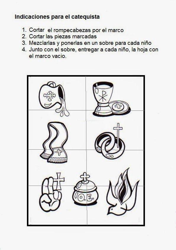 Fuente: elrincondelasmelli Sopas de letras de los Sacramentos de Iniciación: Sopas de letras de los Sacramentos de Sanac...
