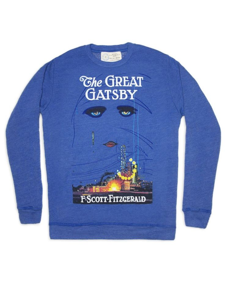 Look what I found from Out of Print! The Great Gatsby sweatshirt – Out of Print #OutofPrintClothing