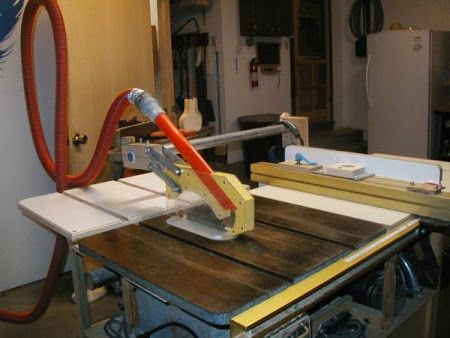 Woodnet Forums Table Saw Hand Guard Dust Collector Workshop