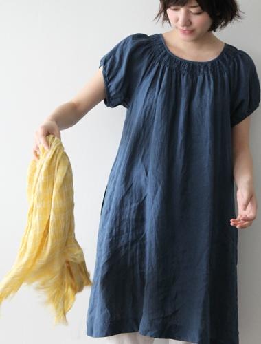 Blodary dress in super fine linene from Envelope.