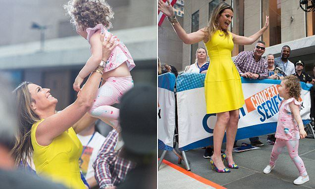 Savannah Guthrie's daughter Vale makes her TV dancing debut
