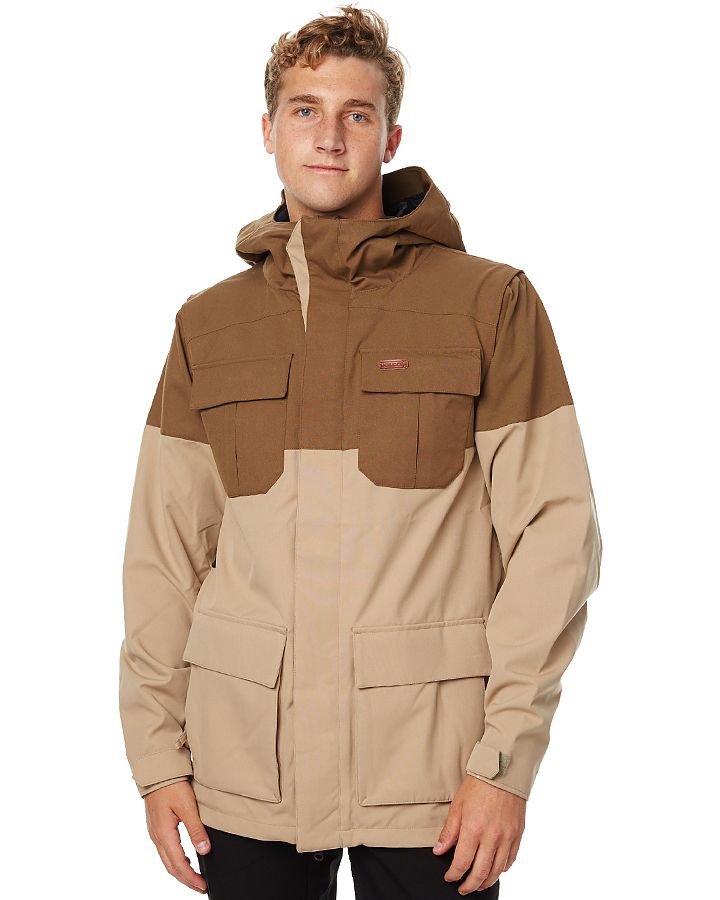 Volcom Alternate Snow Jacket Brown