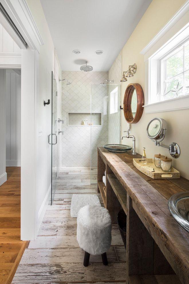 Banheiro Rústico: 55 Ideias com Fotos e Projetos