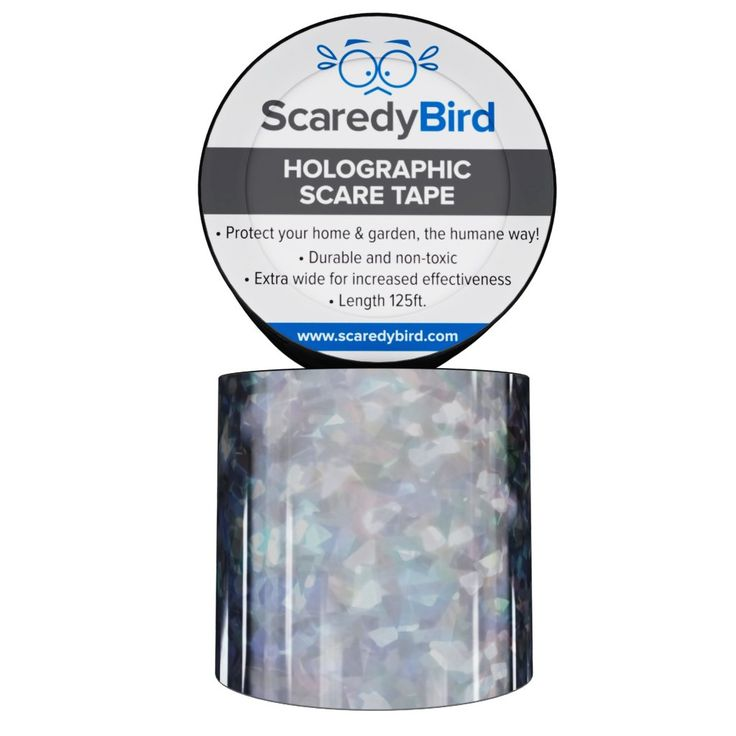 Bird Repellent Scare Tape, Repel And Get Rid Of All Pest Birds From Your  Garden, Patio U0026 Balcony Today! Effective And Humane Bird Control/Deterrent  Device, ...