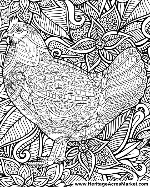 Flowers & vegetation - Coloring Pages for Adults | 713x570