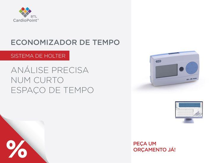 """""""ECG Holter  ECG Holter de 3/7/12-canais Ótima qualidade do sinal de ECG Rápida avaliação do registo"""" #BTL #CardioPoint #Holter http://www.btlportugal.pt/produtos-cardiologia-ecg-holter-btl-cardiopoint-holter-h600"""